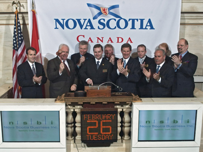 NS Rings the Closing Bell
