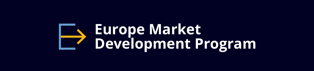 Logo for Europe Market Development Program