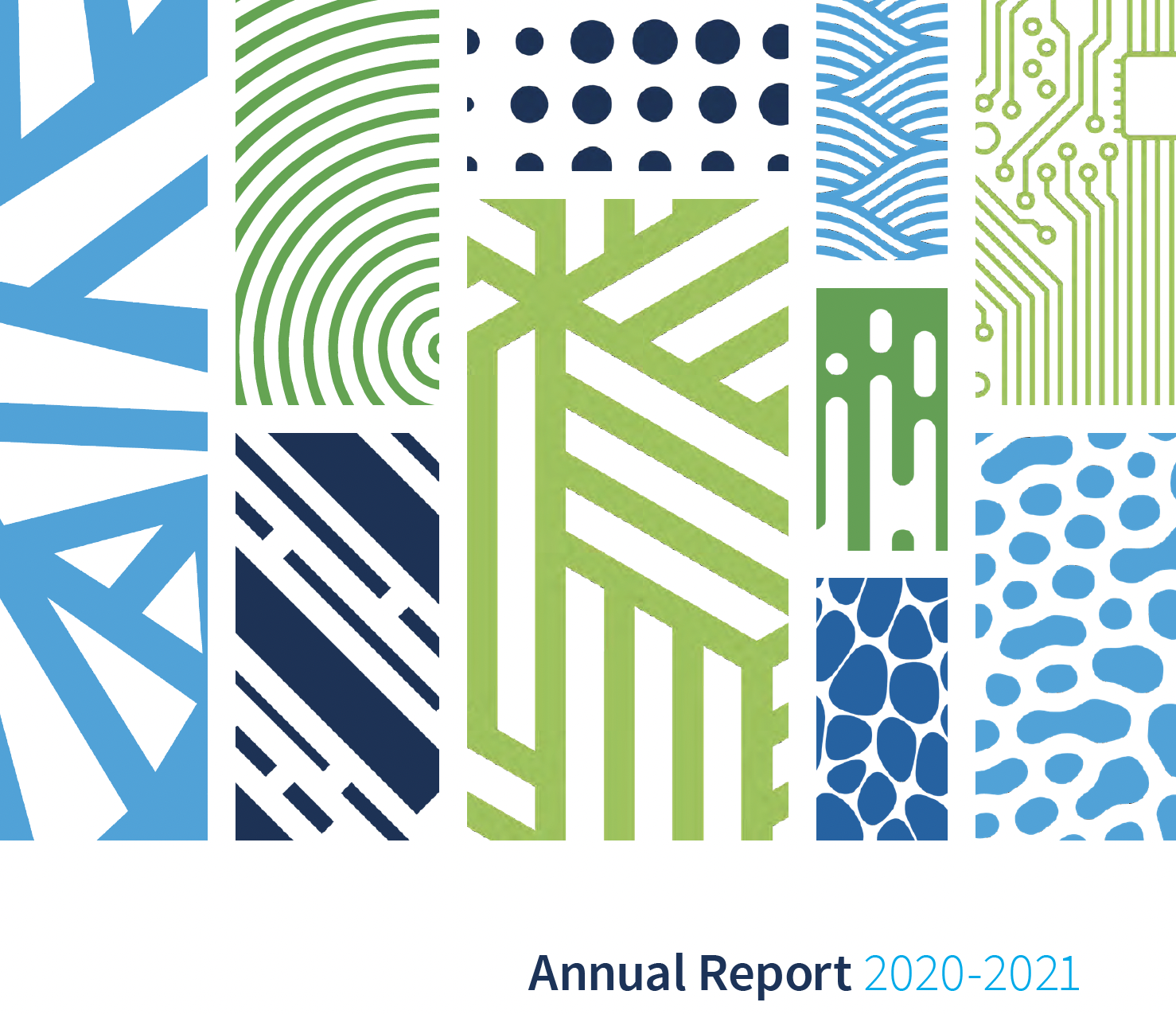 Cover page for NSBI Annual Report 2020-2021