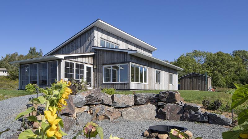 Passive Design home in Glengarry