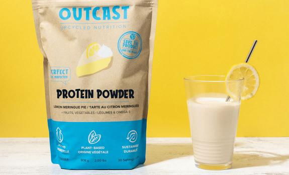 Outcast Foods products and packaging